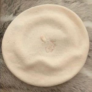 NWT Coach felt beret (100% wool)
